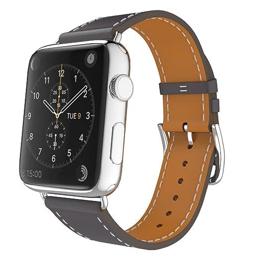 30 opinioni per MoKo Cinturino per Apple Watch 38mm, Braccialetto Lusso Morbido di Giro Singolo