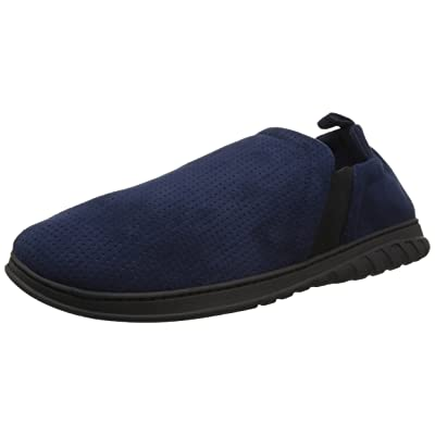 Dearfoams Men's Perforated Bootie with Gore Slipper | Slippers