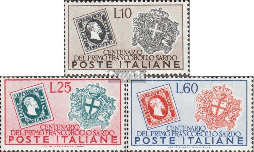 Prophila Collection Italia Michel.-No..: 845-847 (Completa.edición.) 1951 F.P. Michetti (Sellos para los coleccionistas) Sello en Sello: Amazon.es: Juguetes y juegos