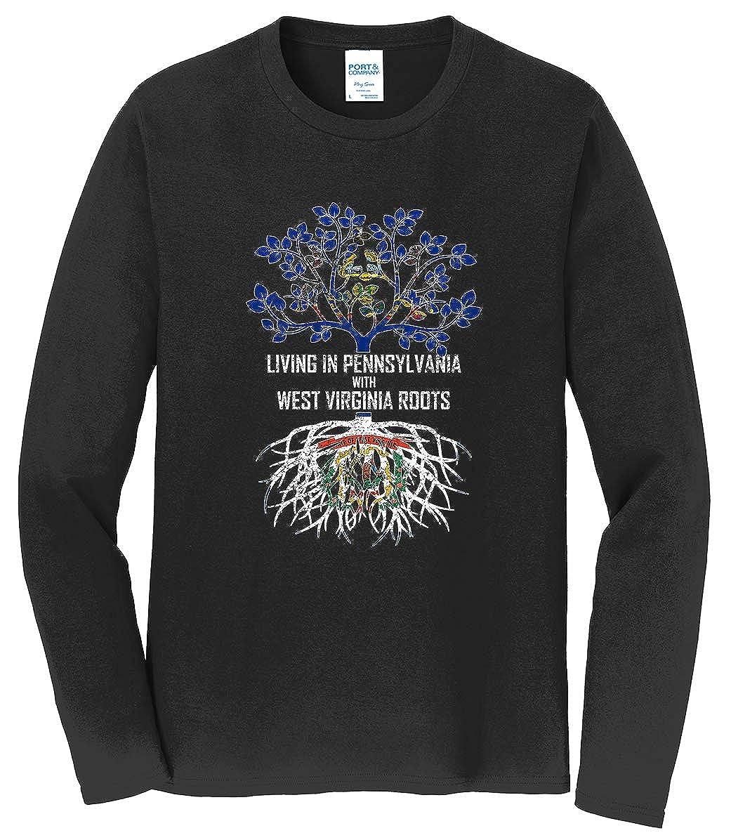 Tenacitee Babys Living in West Virginia Pennsylvania Roots Shirt