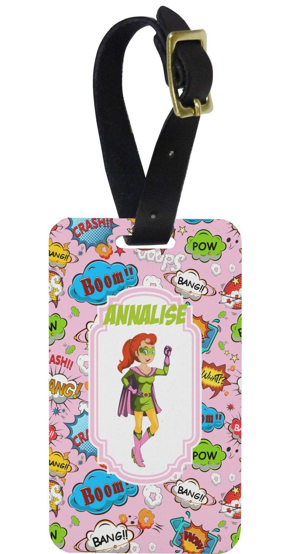 Amazon.com | Woman Superhero Aluminum Luggage Tag ...