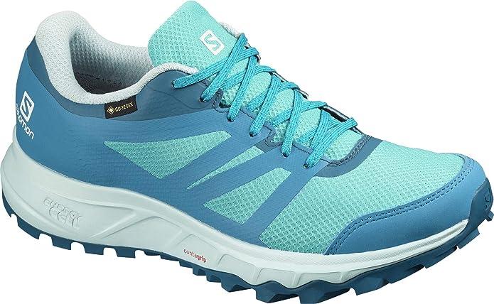 SALOMON Trailster 2 GTX W, Zapatillas de Running para Asfalto para ...