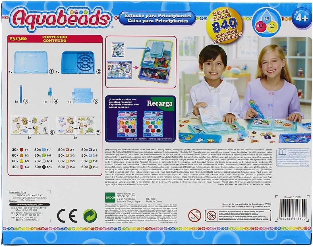 Aquabeads-Para Imaginar Estuche para Principiantes, Multicolor, única (EPOCH 31380) , color/modelo surtido: Amazon.es: Juguetes y juegos