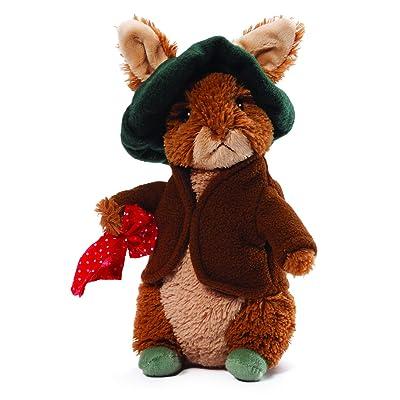 """GUND Classic Beatrix Potter Benjamin Bunny Rabbit Stuffed Animal Plush, 6.5"""": Toys & Games"""