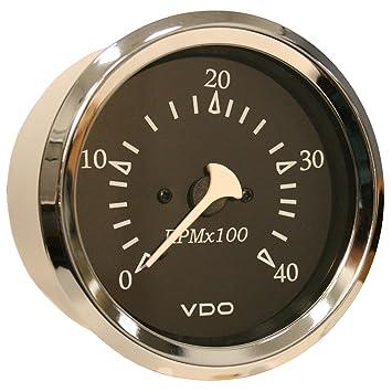 """Vdo allentare 4000rpm 3 – 3/8 """"(85 mm) Diesel tacómetro"""