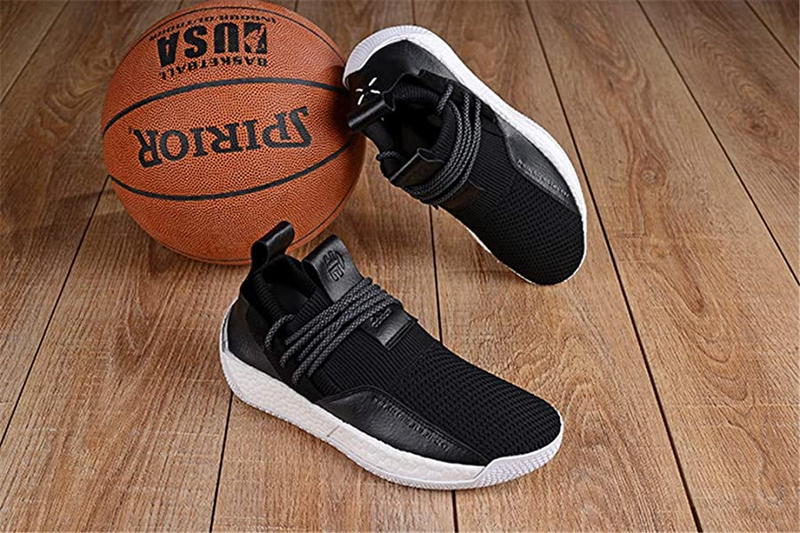 73d2c650ce71 Jun hua Mens Harden LS2 Lace Basketball Shoes (7 D US). Back. Double-tap to  zoom