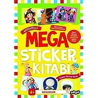 Mega Sticker - Meslekler