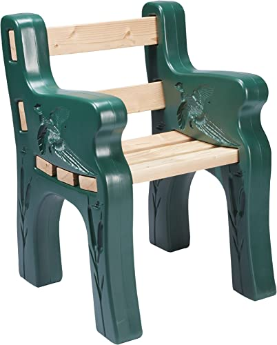 Sporty s Park Bench Kit Comfortable Lightweight Maintenance Free UV Protected