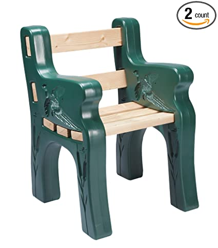 Fantastic Sportys Park Bench Kit Comfortable Lightweight Maintenance Free Uv Protected Spiritservingveterans Wood Chair Design Ideas Spiritservingveteransorg