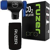 RUZER CO2 C02 Inflator Quick & Easy Presta & Schrader Valve Compatibel Fietsband Pomp Voor Road & Mountainbikes…