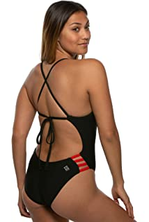 fce2666f94c31 Amazon.com: JOLYN Women's Fixed-Back Brandon One-Piece Swimsuit ...
