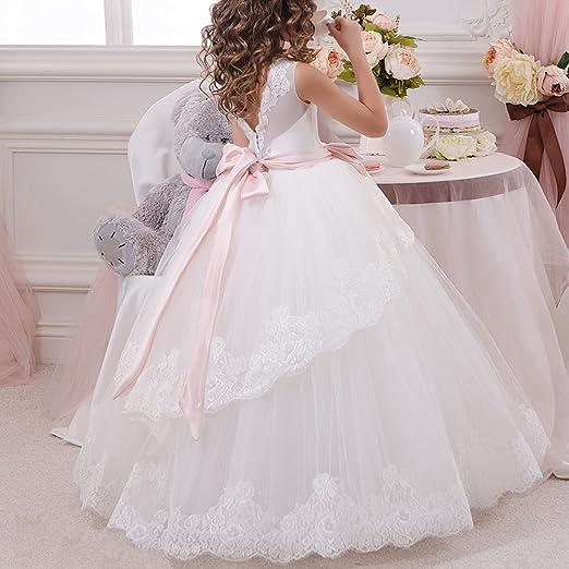 Amazon.com: IBTOM CASTLE Flower Girls Communion Dress Wedding Prom Ball Evening Dance Gowns: Clothing
