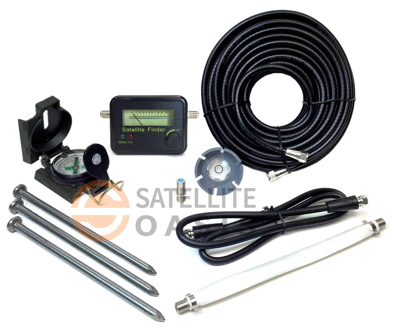 Amazon.com: Dish Network Turbo Hdtv Satellite Tripod Kit: Home Audio &  Theater