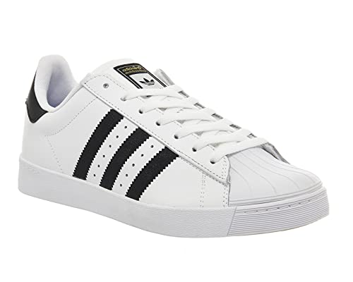 adidas Superstar Vulc ADV White Black - 10 UK