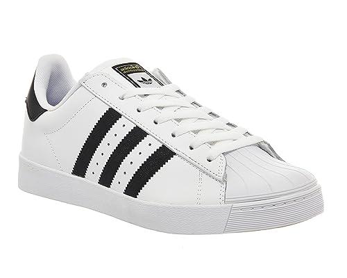 11b13a7094460f ... inexpensive adidas superstar vulc adv white black 10 uk 907d2 c4afd
