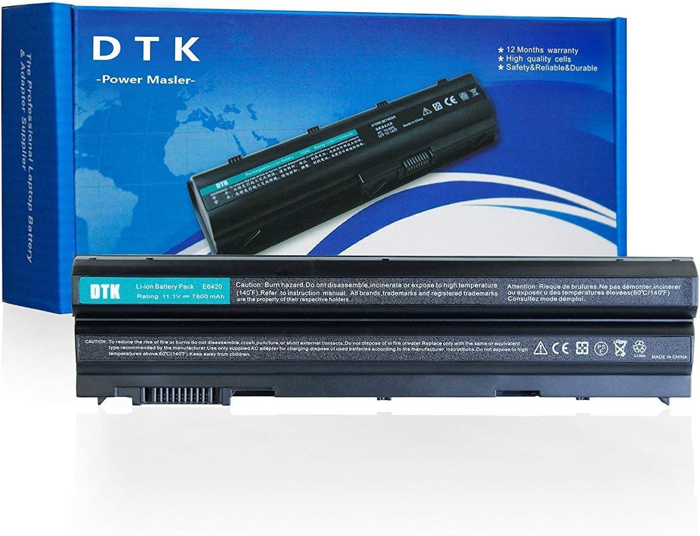 Dtk® Batería para Ordenador Portátil Dell Latitude E5420 E5430 E5530 E6420 E6430 E6520 E6530 Inspiron 4420 5420 5425 7420 4720 5720 M421R M521R N4420 N4720 N5420 N5720 N7420 Vostro 3460 Series - Dell
