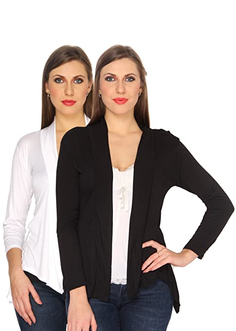 Ten on Ten Women's Shrug (Pack of 2) Women's Shrugs & Capes at amazon