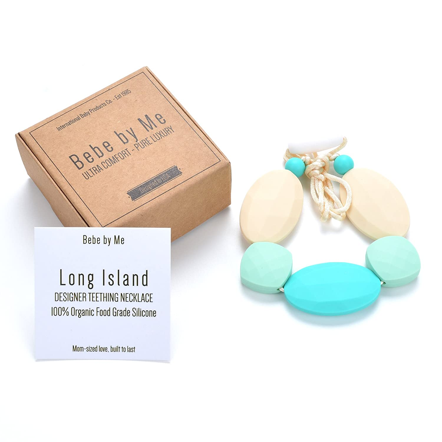 BEBE Designer Teething Necklace Long Island Bebe by Me International