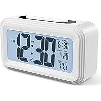 Annsky Despertador Digital, LCD Pantalla Reloj Alarma Inteligente