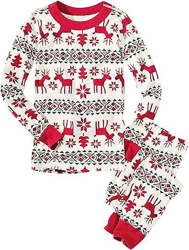 Pijamas Navidad Familia Pijama Familiares Navideñas Conjuntos Navideños Bebe Mujer Niños Niña Hombre Adultos Trajes para Navidad Pijama Dos Piezas ...