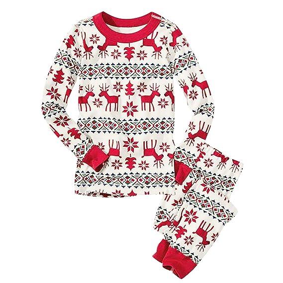 ... Pezzi Donna Maniche Lunghe Neonato Bambini Bambina Bambino Uomo  Pigiamas Ragazza Ragazzo Invernale Costume di Natale Sleepwear  Amazon.it   Abbigliamento f877722ad63