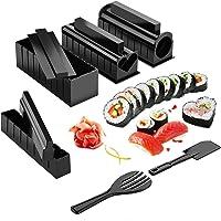 Premium Sushi Making Kit 10 Pieces Plastic Sushi Maker Tools DIY Home Sushi Tool