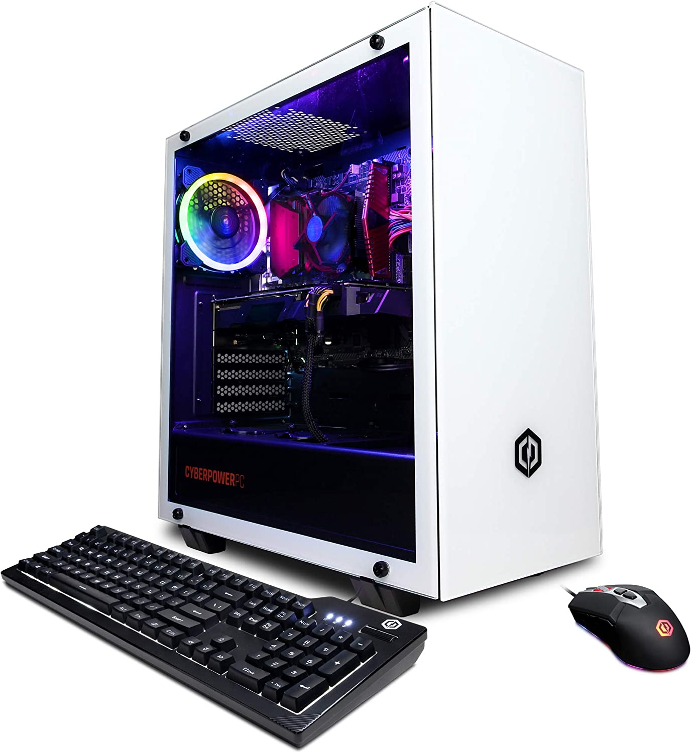 CyberpowerPC Gamer Xtreme VR Gaming PC, Intel i5-9400F 2.9GHz, Radeon RX 5500 XT 8GB, 8GB DDR4, 240GB SSD, 1TB HDD, WiFi & Win 10 Home (GXiVR8020A7)
