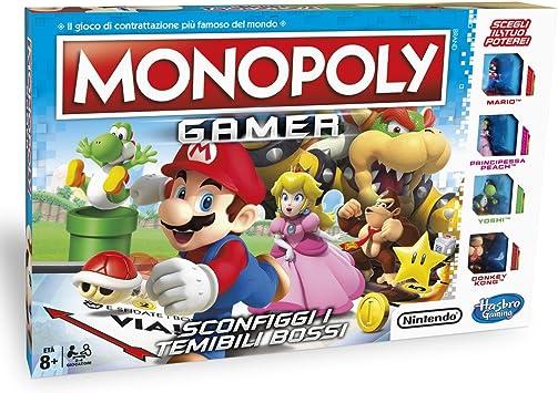 Hasbro Games - Juego de mesa Monopoly Gamer Estándar (versión ...