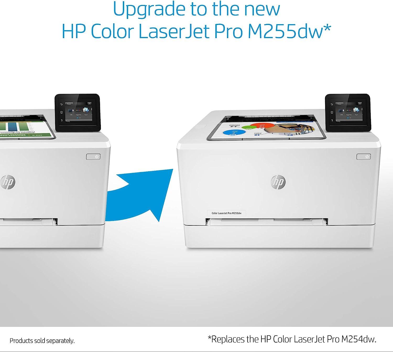 Dash Replenishment Ready HP LaserJet Pro M254dw Wireless Color Laser Printer T6B60A