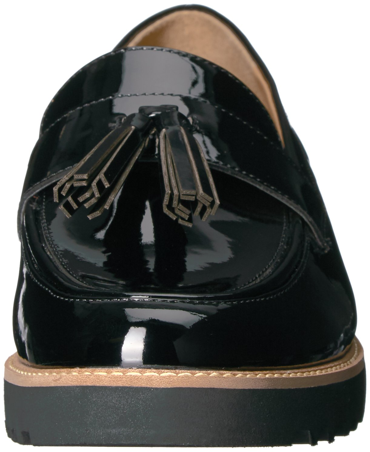 Franco Sarto Women's Carolynn Loafer Flat, Black, 9 M US by Franco Sarto (Image #4)