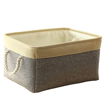 Fabric Basket Storage Bin For Nursery Storage Blanket Basket Linen Basket For Books Baby