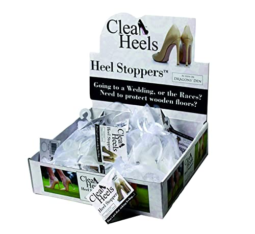 949e36457b5 Clean Heels Heel Stoppers Mixed Box of 20 Pairs  Amazon.co.uk  Shoes   Bags