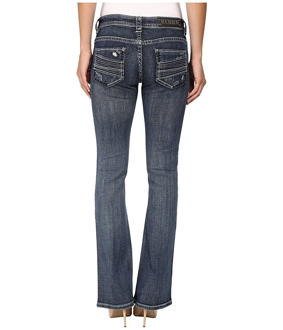 5b10d3f9a4e Rock and Roll Cowgirl Womens Rival Bootcut in Medium Vintage W6-8471 ...