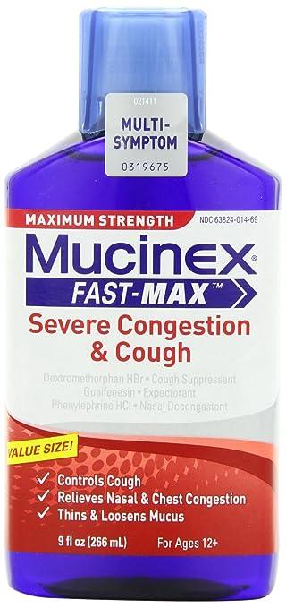Stop Taking Mucinex Fast-Max Liquid Medicines