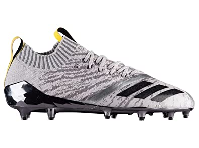 timeless design e367f 58a71 Amazon.com   adidas Adizero 5-Star 7.0 Primeknit Football Cleats (9, Grey Core  Black Vivid Yellow)   Football