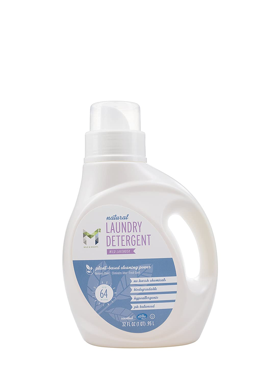 ランドリー洗剤ワイルドラベンダーすべて自然32oz。。。 B07CYFYL31