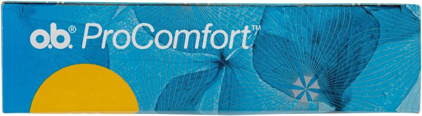 ProComfort Easy Insertion Pads and Reliable Protection 16 Pieces o.b
