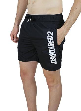 34657017e3 Dsquared 2 Men's Swimming Shorts black black Small: Amazon.co.uk ...