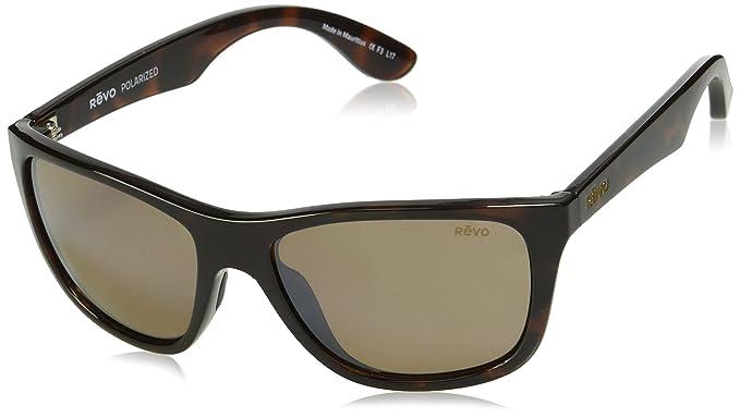 788669119faec Revo Unisex RE 1001 Otis Square Polarized UV Protection Sunglasses ...