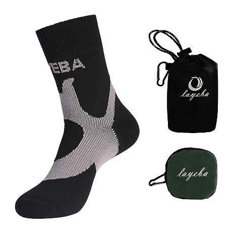 59871b9481 Layeba 100% Waterproof Breathable Socks [SGS Certified] Unisex Outdoor  Sports Hiking Trekking Skiing