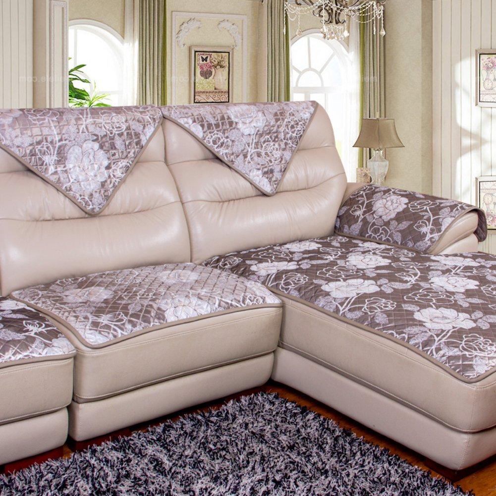 HDVHXVHJWCXHXF Cuscini del Divano di Cuoio Cuscini Divano Slittamento di Stile Europeo Cuscini del Divano Semplice E Moderno Divano Cuscini-A 70x70cm(28x28inch)