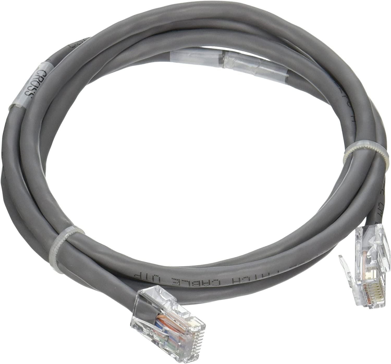 Green Non-Booted Unshielded Network Patch Cable C2G 24507 Cat5e Crossover Cable 7 Feet, 2.13 Meters
