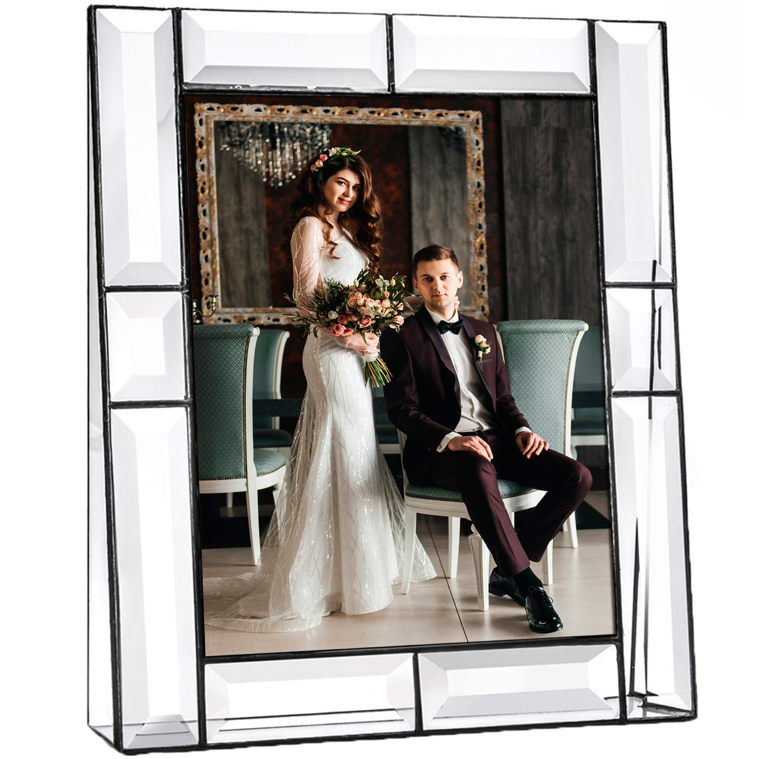 Clear Glass Picture Frame 8x10 Photo Display Desk Accessories Tabletop Home Decor Family Wedding Anniversary Engagement Graduation Gift J Devlin Pic 112 Series Buy Online In Gibraltar At Gibraltar Desertcart Com Productid 11423178