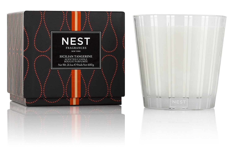 NEST Fragrances 3-Wick Candle- Sicilian Tangerine , 21.2 oz by NEST Fragrances
