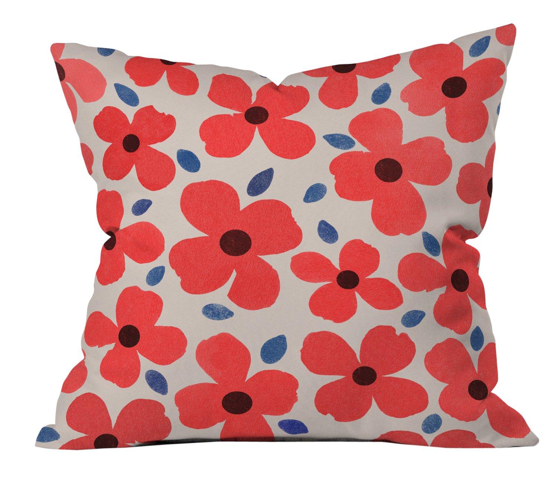 Deny Designs Aimee St Hill Farah Mint Outdoor Throw Pillow 16 x 16
