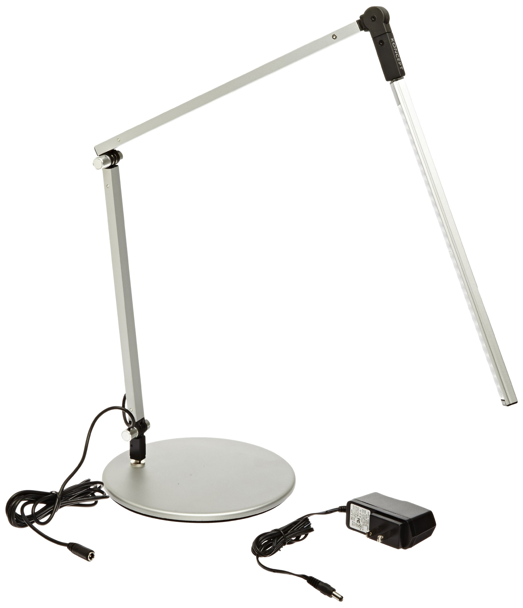 Koncept AR3100-C-SIL-DSK Z-Bar Mini LED Desk Lamp, Cool Light, Silver by Koncept