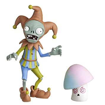 Plants vs Zombies 3 Jester Zombie with Hypnoshroom Action Figure by Plants vs Zombies