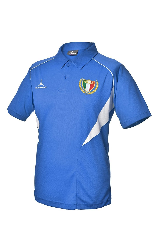 Olorun 6/Sei Nazioni Italia Tifosi Rugby Polo S-XXXL
