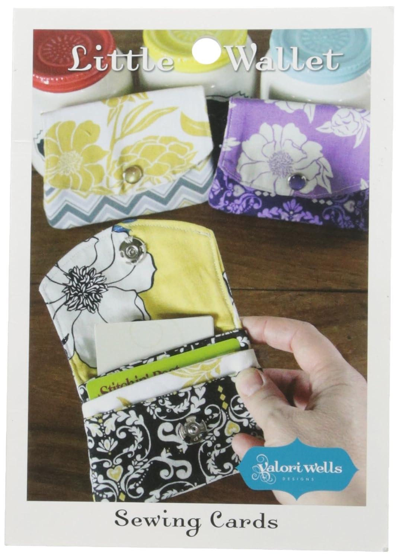 Amazon valori wells pattern little wallet arts crafts sewing jeuxipadfo Choice Image