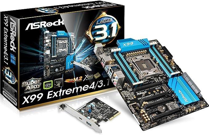 Asrock X99 Extreme4 3 1 Mainboard S2011 3 Computer Zubehör